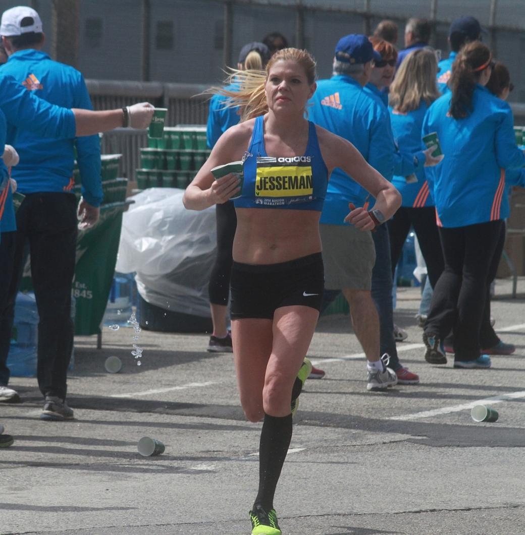 boston marathon april 21 beacon street elite runners jesseman