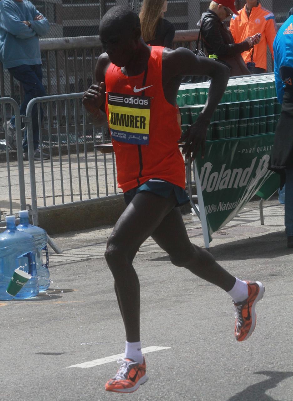 boston marathon april 21 beacon street elite runners joel kimurer 2