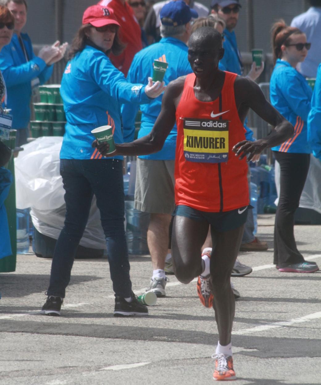 boston marathon april 21 beacon street elite runners joel kimurer