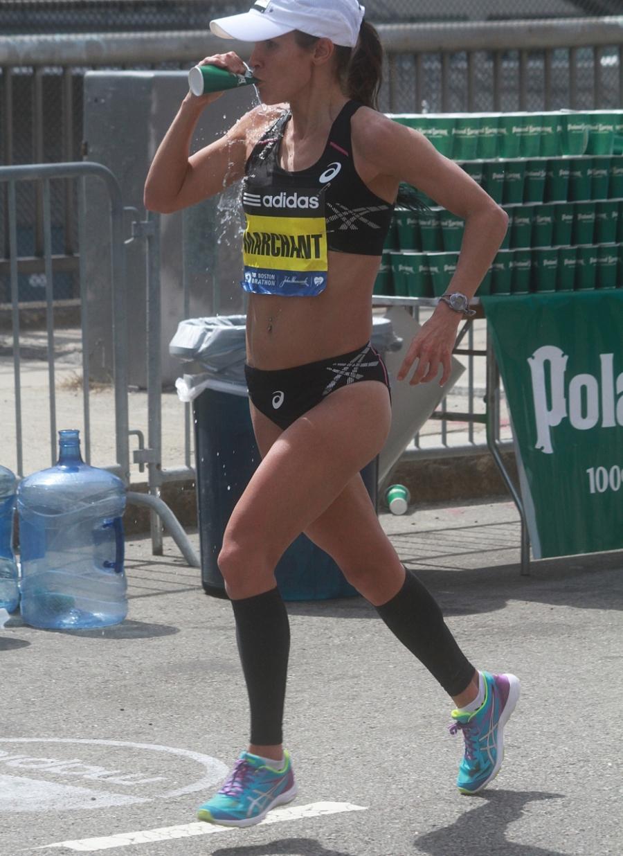 boston marathon april 21 beacon street elite runners lanni marchant