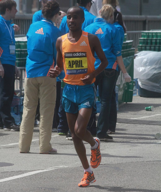 boston marathon april 21 beacon street elite runners lusapho april