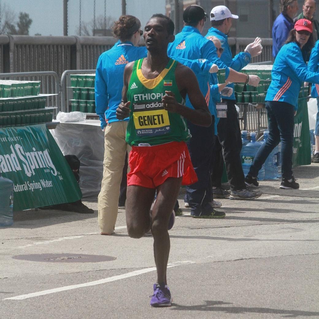 boston marathon april 21 beacon street elite runners markos geneti