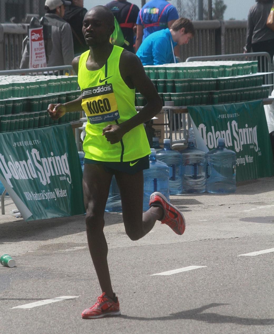 boston marathon april 21 beacon street elite runners micah kogo