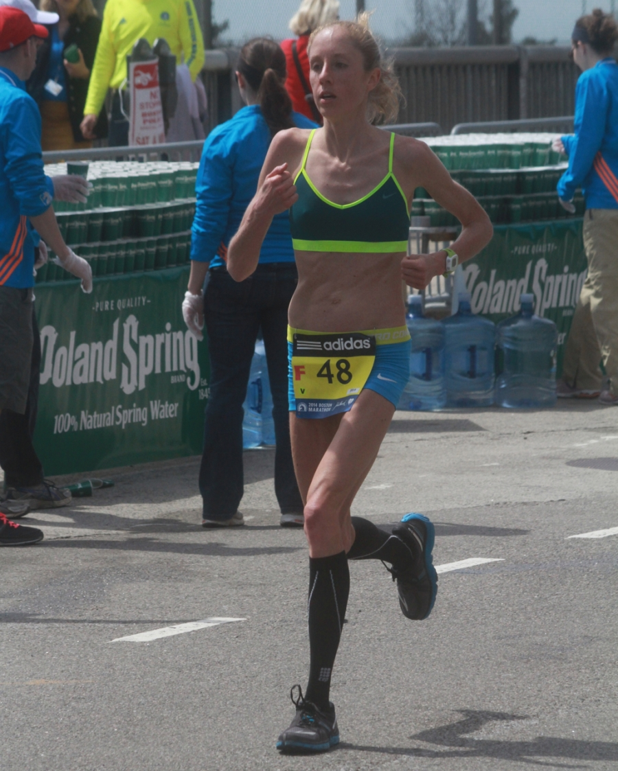 boston marathon april 21 beacon street elite runners number 48