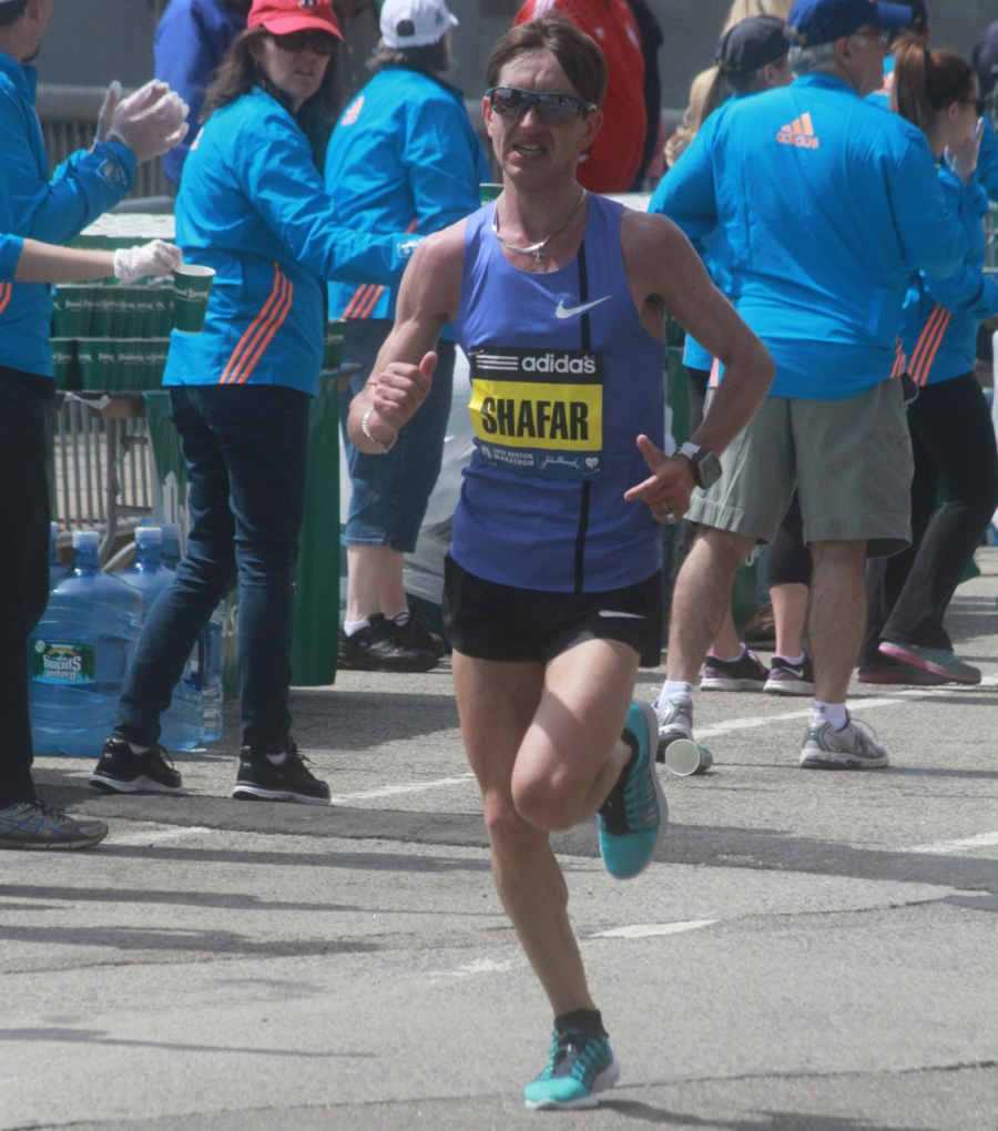 boston marathon april 21 beacon street elite runners vitaliy shafar