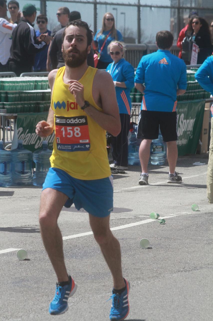 boston marathon april 21 beacon street number 158