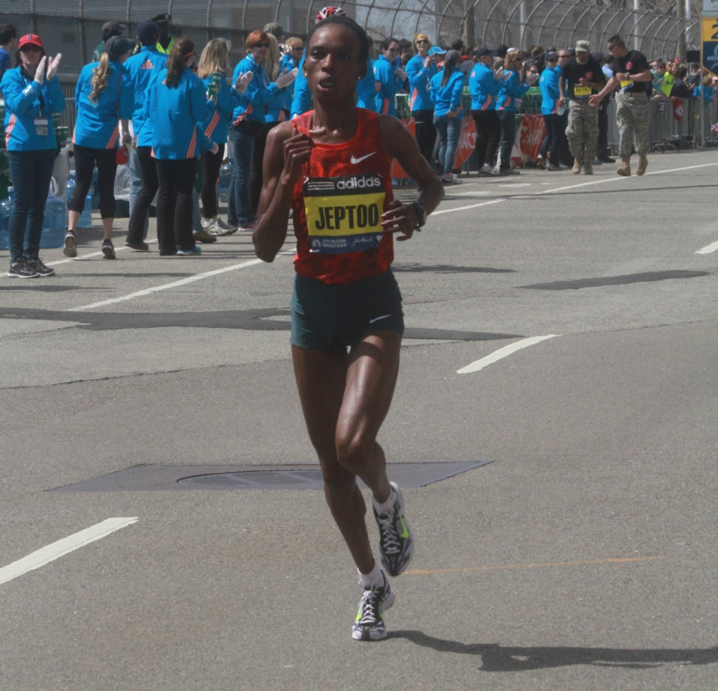 boston marathon april 21 beacon street rita jeptoo 2