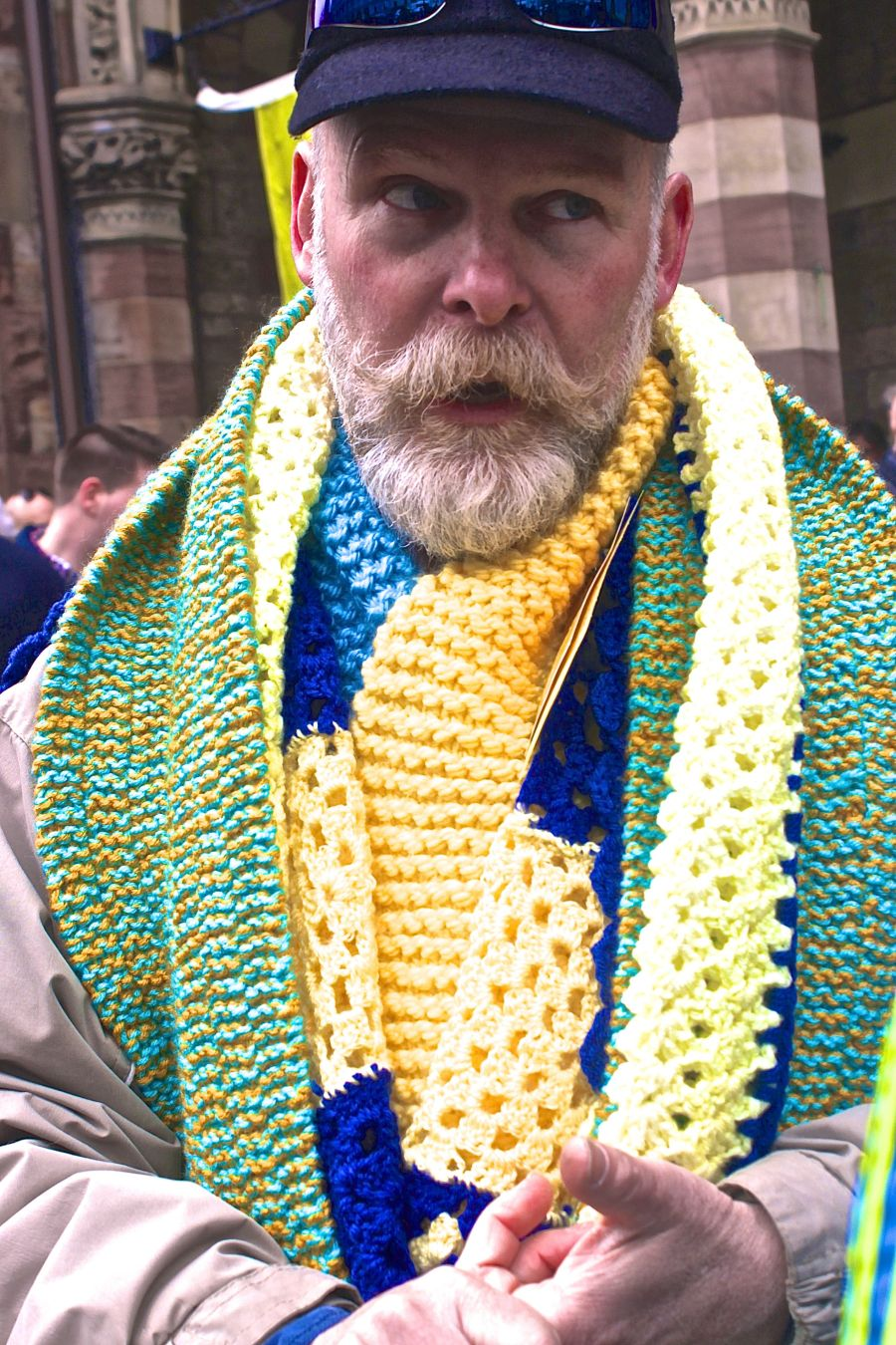 boston old south church marathon scarf distribution 1