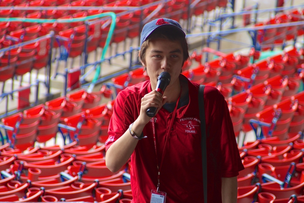 boston red sox tour guide 2