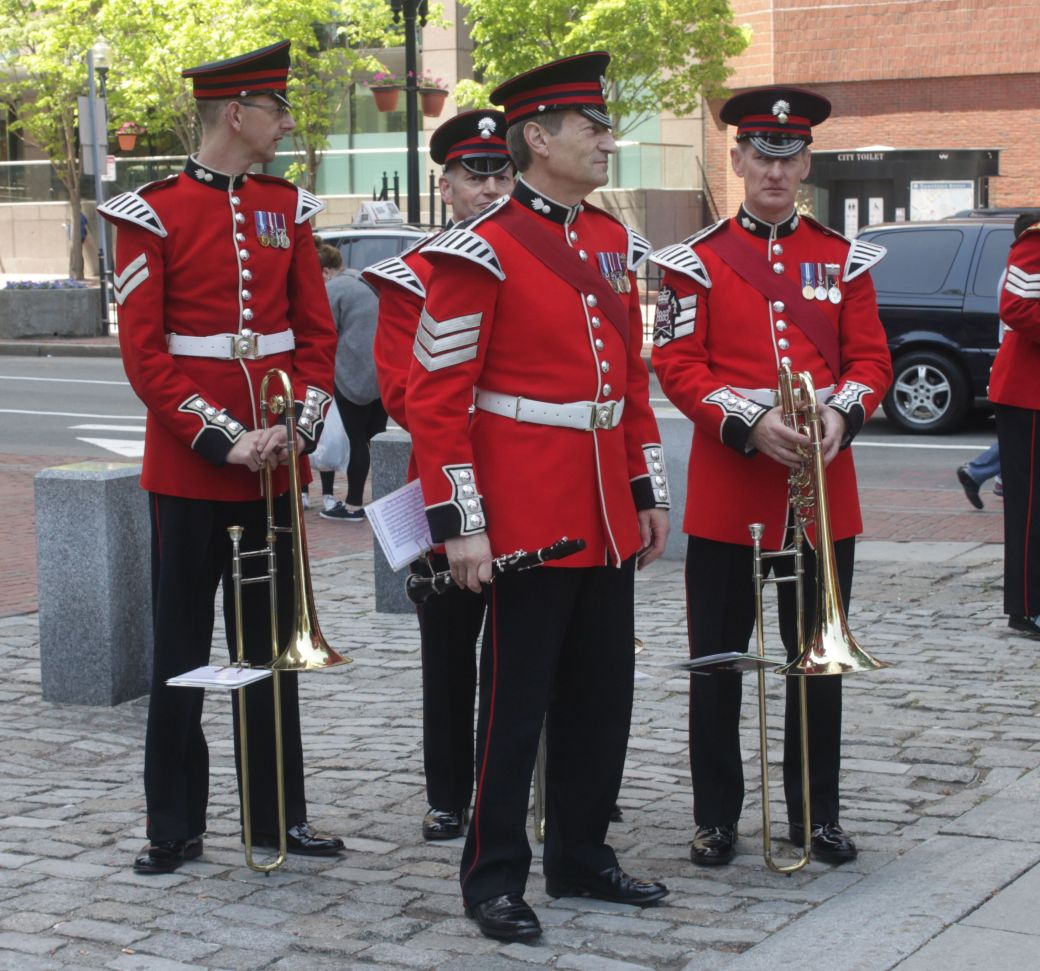 boston faneuil hall Honorable Artillery Company of London performance may 30 1