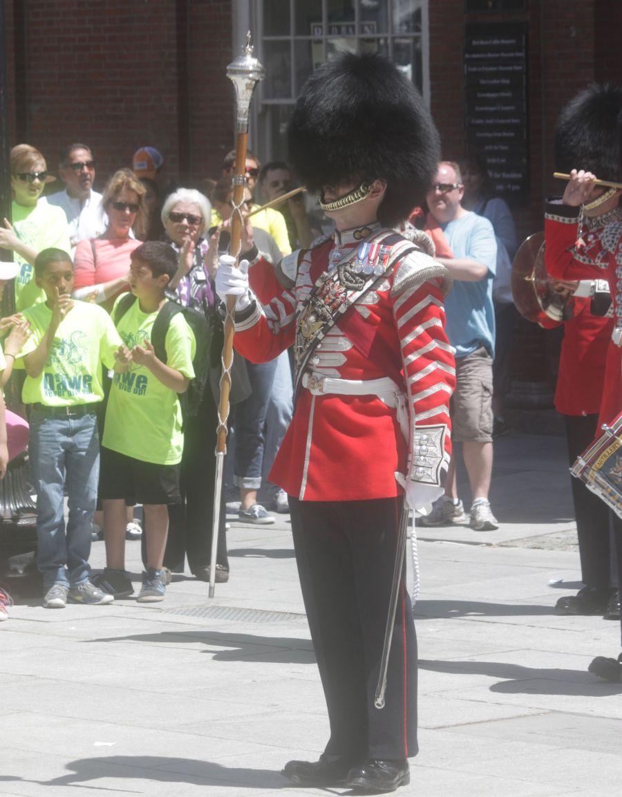 boston faneuil hall Honorable Artillery Company of London performance may 30 10