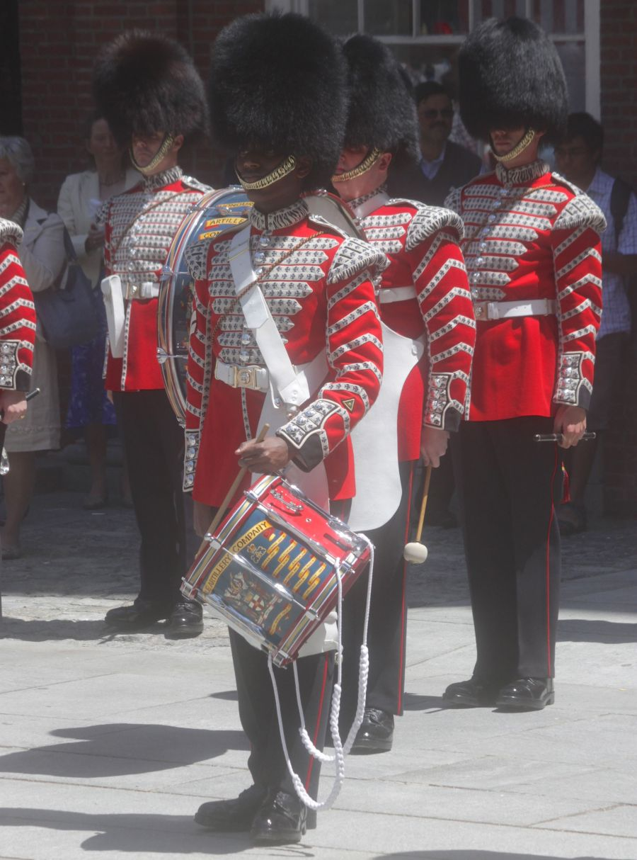 boston faneuil hall Honorable Artillery Company of London performance may 30 11