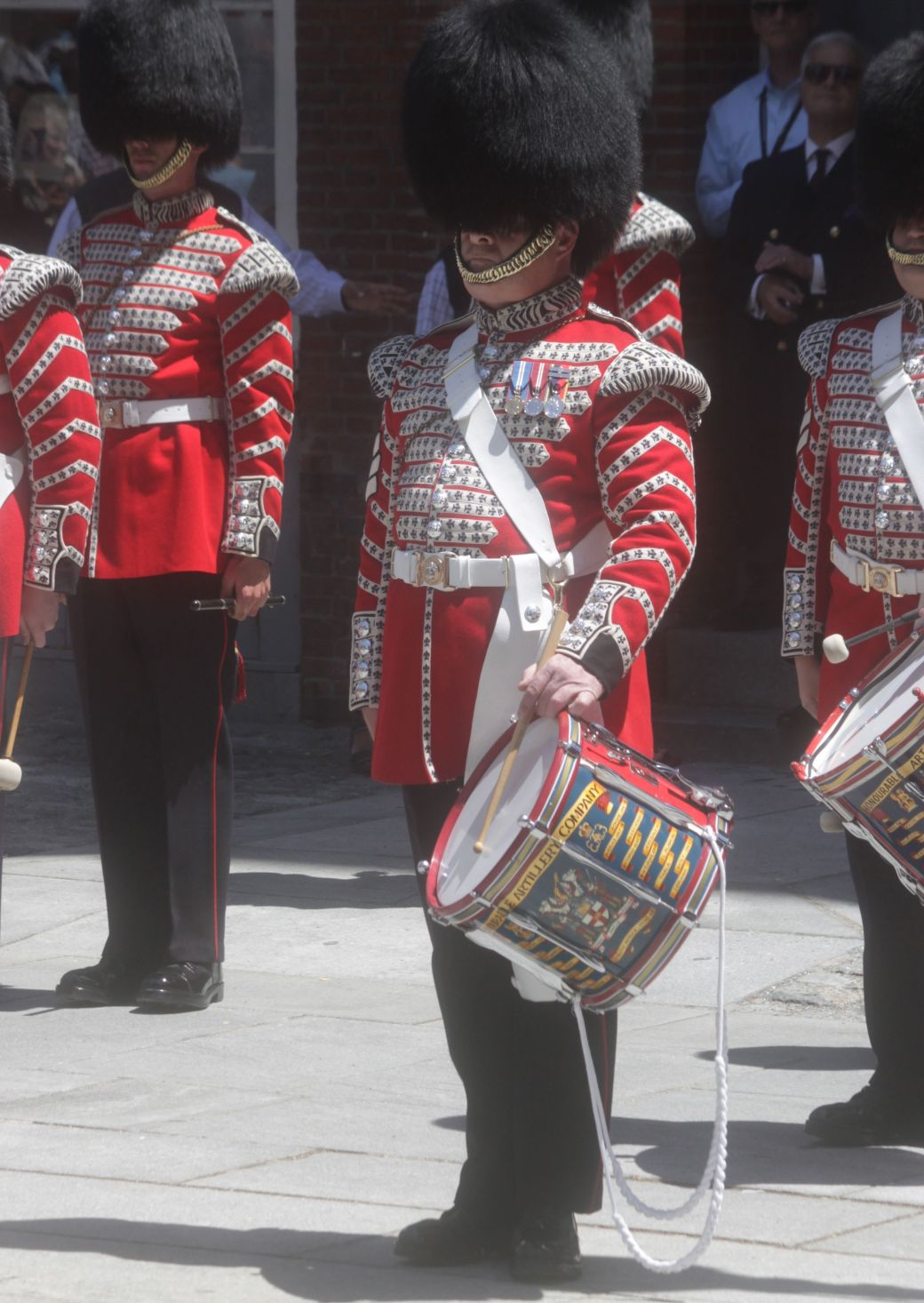 boston faneuil hall Honorable Artillery Company of London performance may 30 12