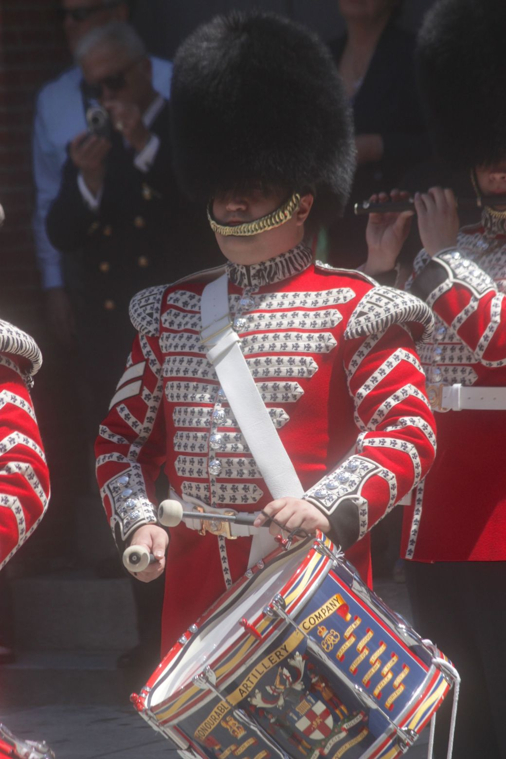 boston faneuil hall Honorable Artillery Company of London performance may 30 15