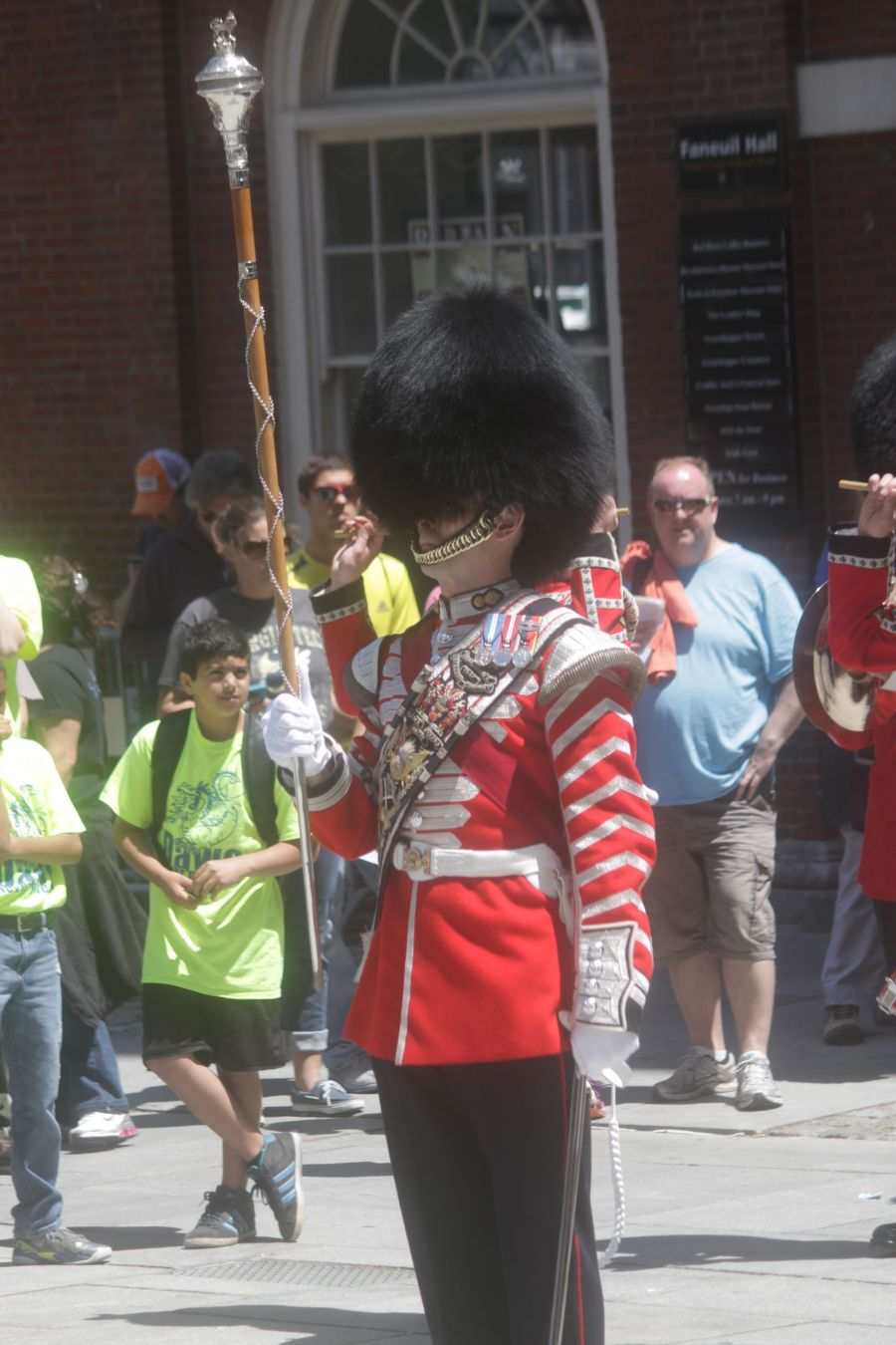 boston faneuil hall Honorable Artillery Company of London performance may 30 16