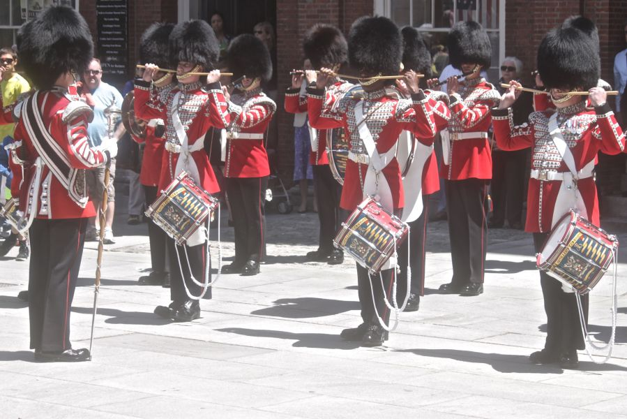 boston faneuil hall Honorable Artillery Company of London performance may 30 17