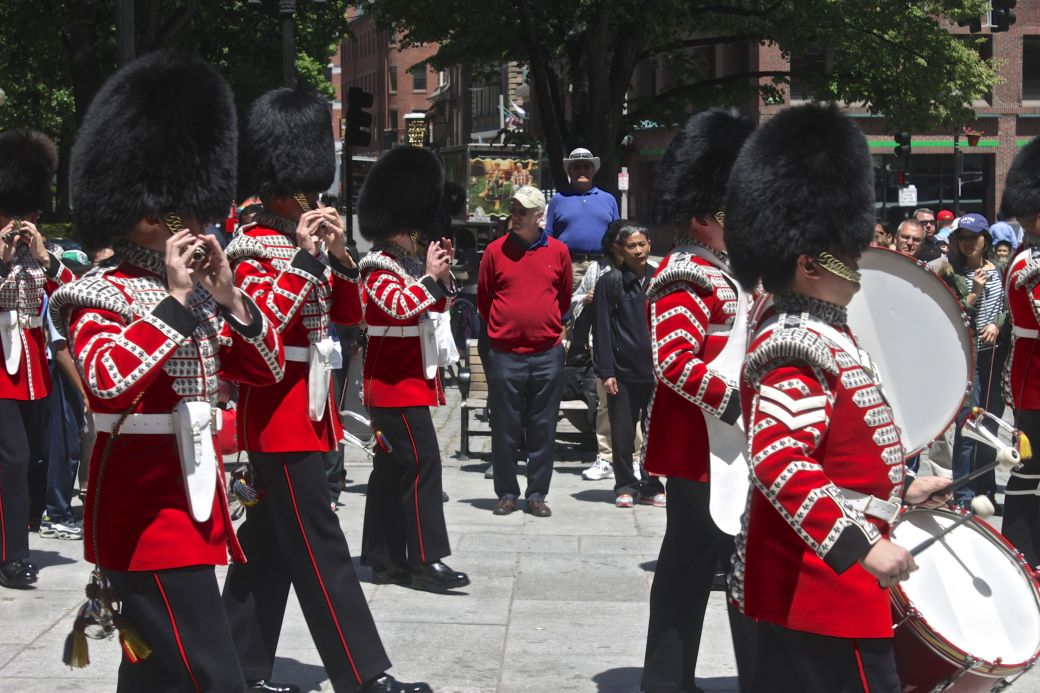 boston faneuil hall Honorable Artillery Company of London performance may 30 18