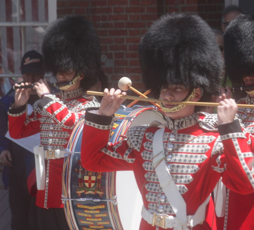boston faneuil hall Honorable Artillery Company of London performance may 30 2