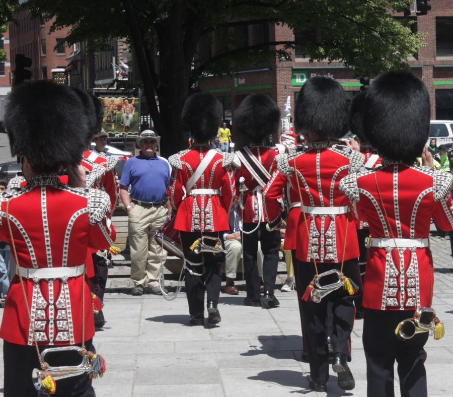 boston faneuil hall Honorable Artillery Company of London performance may 30 3