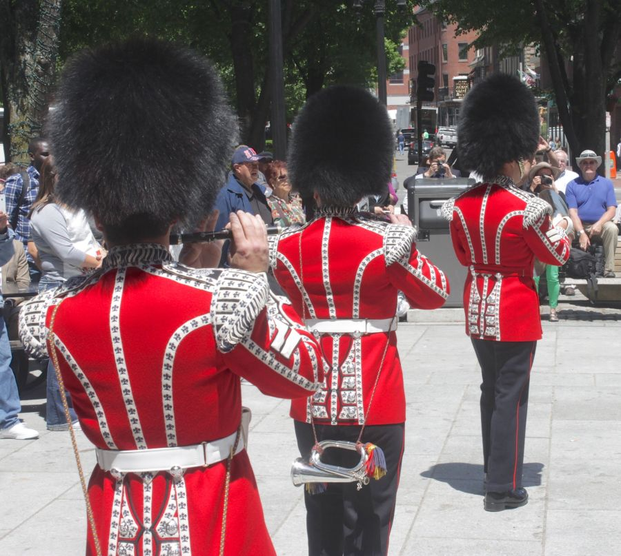 boston faneuil hall Honorable Artillery Company of London performance may 30 4