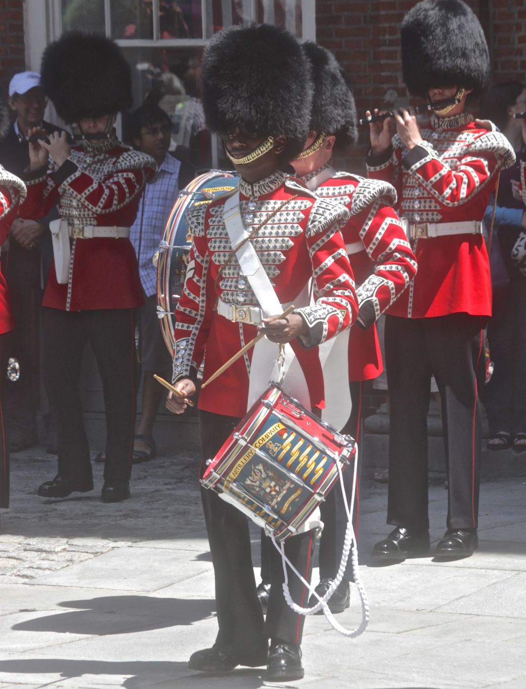 boston faneuil hall Honorable Artillery Company of London performance may 30 6