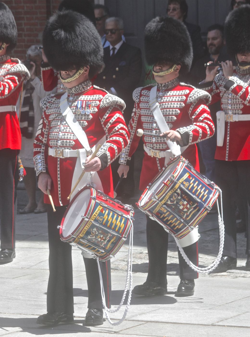 boston faneuil hall Honorable Artillery Company of London performance may 30 7