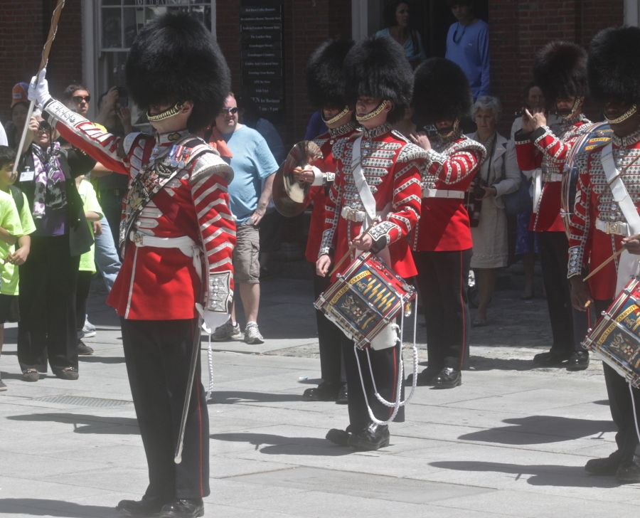 boston faneuil hall Honorable Artillery Company of London performance may 30 9