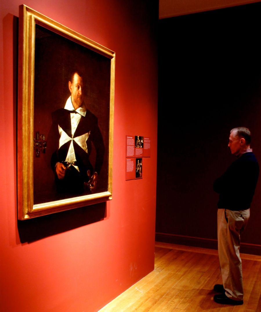 boston museum of fine arts caravaggio exhibit 1