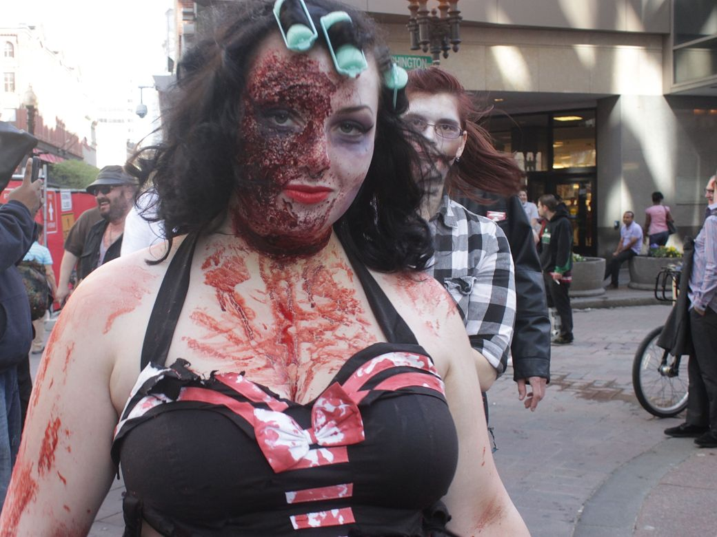 boston zombie walk may 17 12