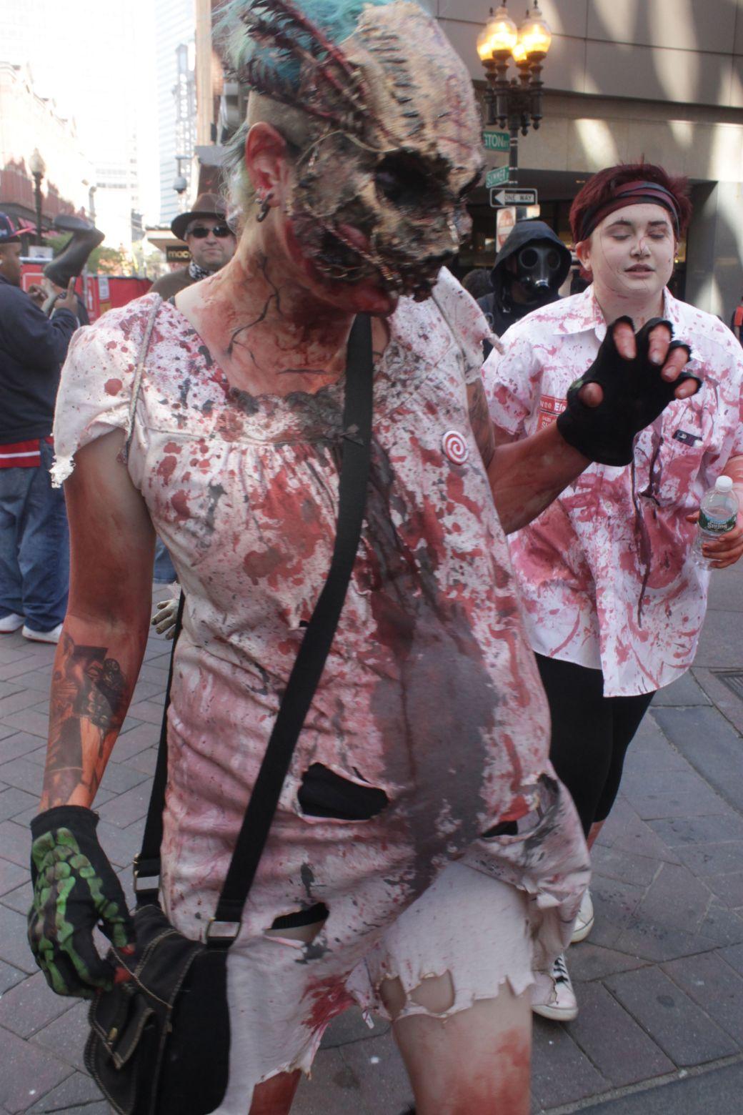 boston zombie walk may 17 13