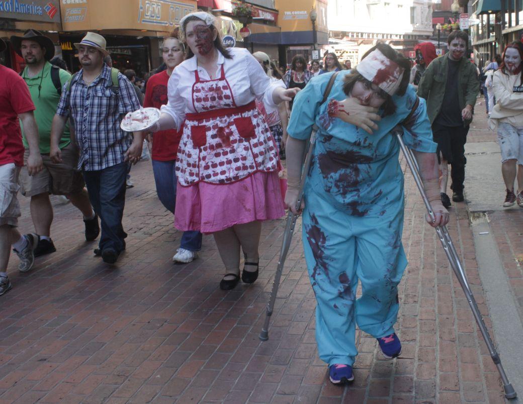 boston zombie walk may 17 14