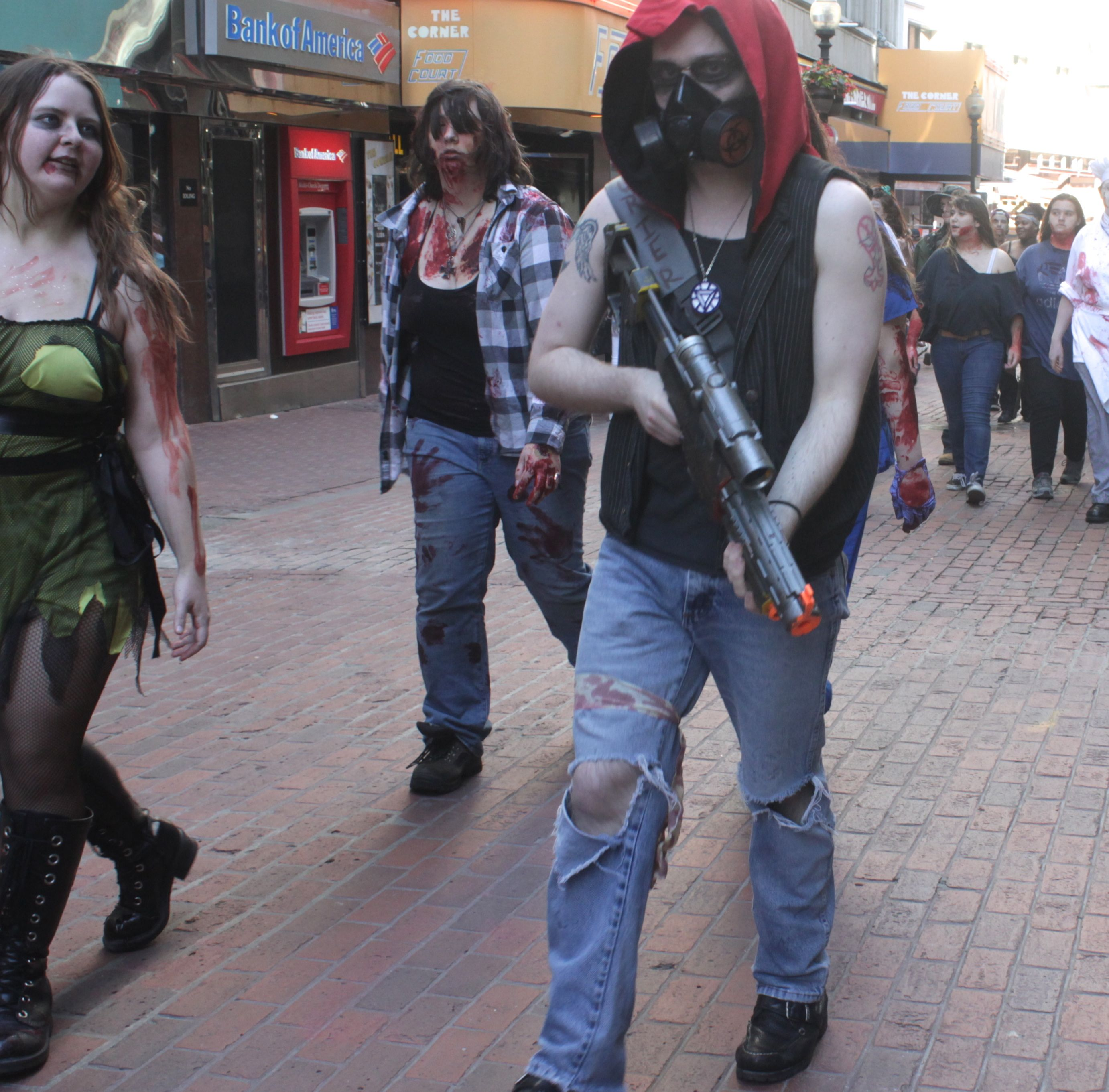 look out zombie apocalypse to your left and your right wrong