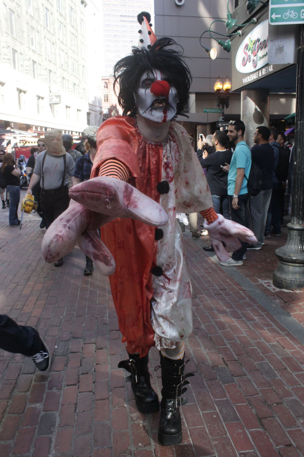 boston zombie walk may 17 22