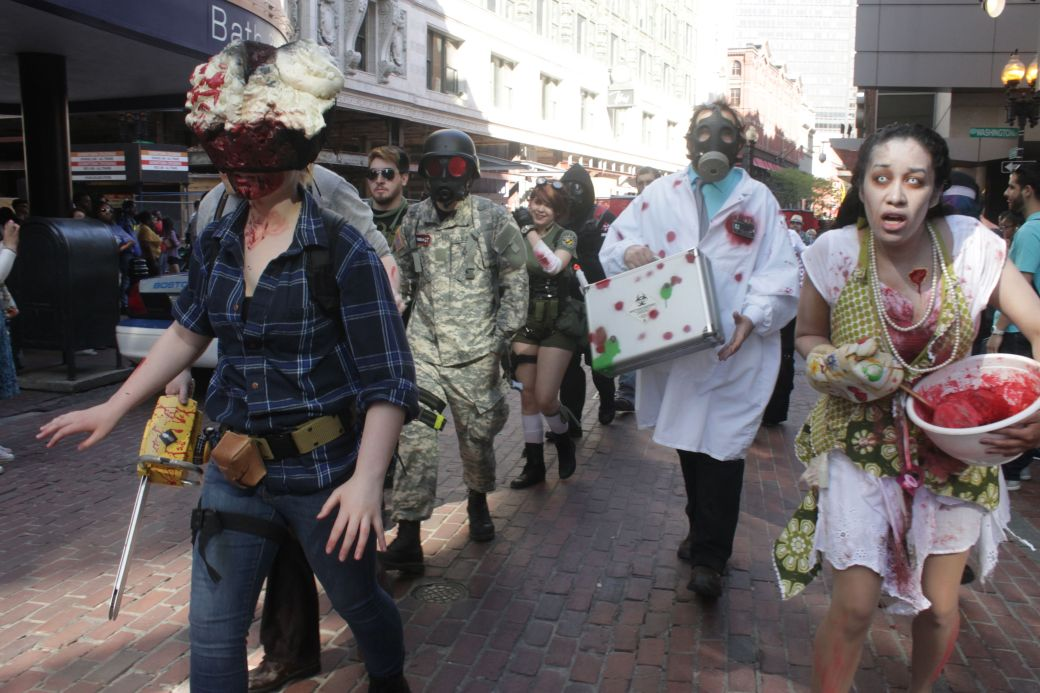 boston zombie walk may 17 23