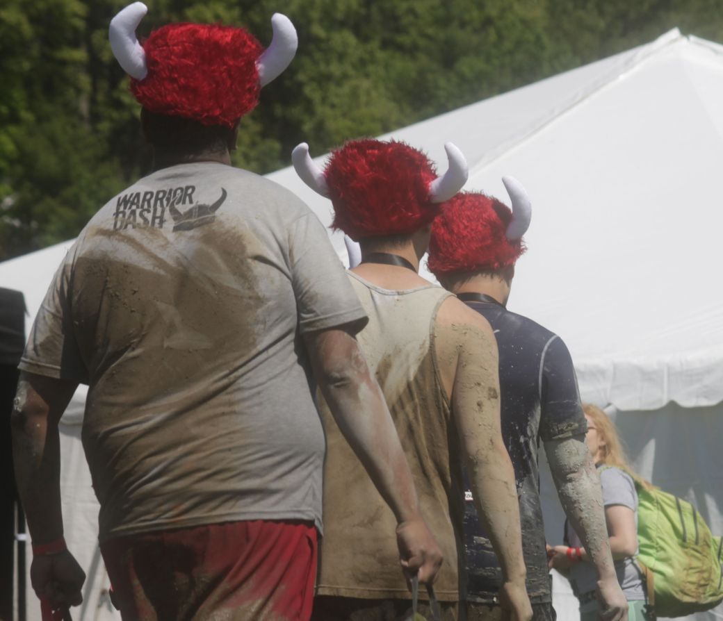 amesbury warrior dash may 31 12