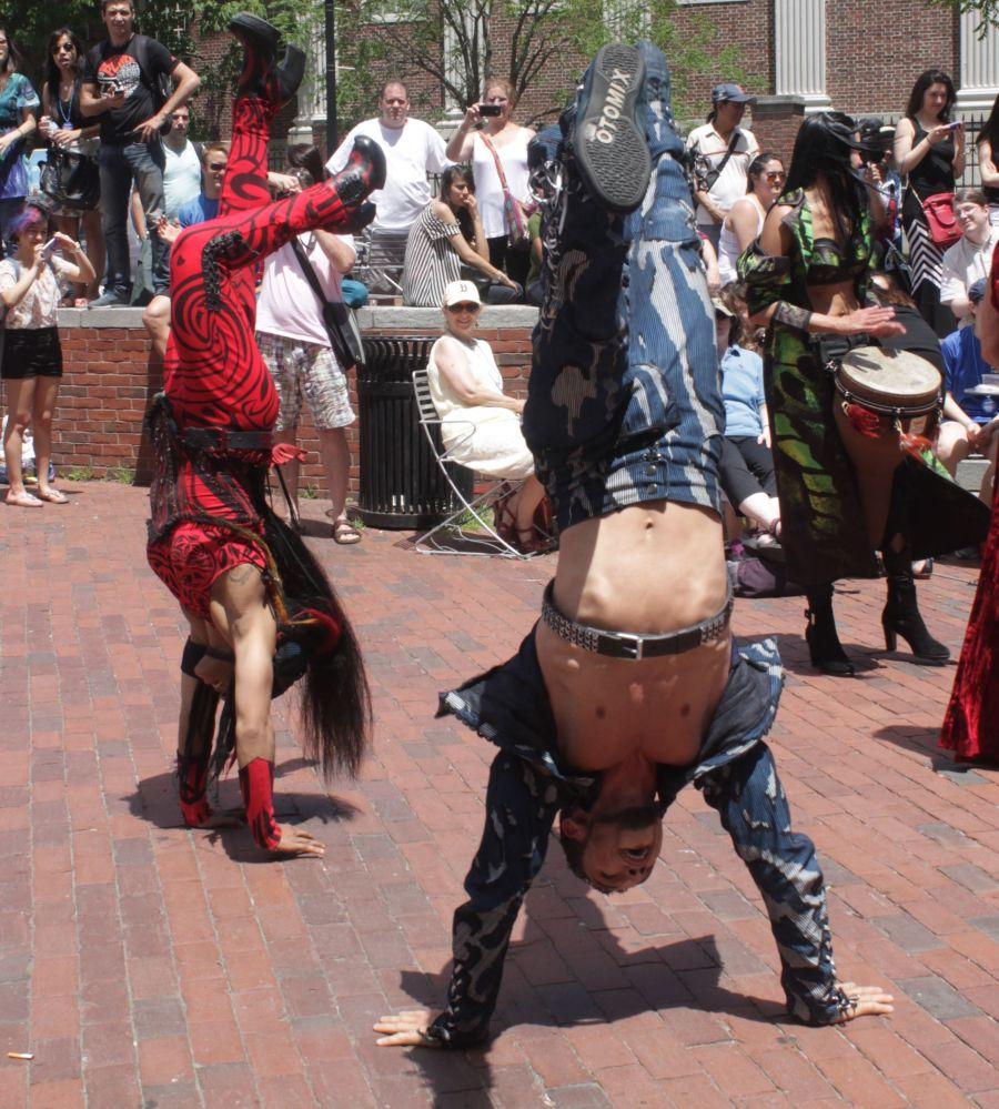 boston harvard square cirque du soleil performers 15