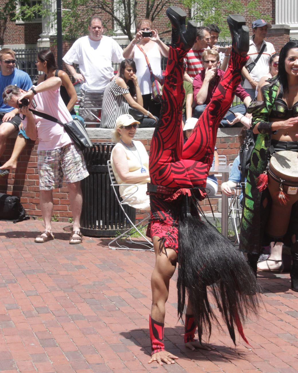 boston harvard square cirque du soleil performers 16