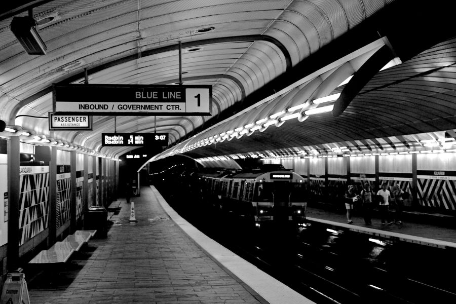 boston aquarium station inside 2