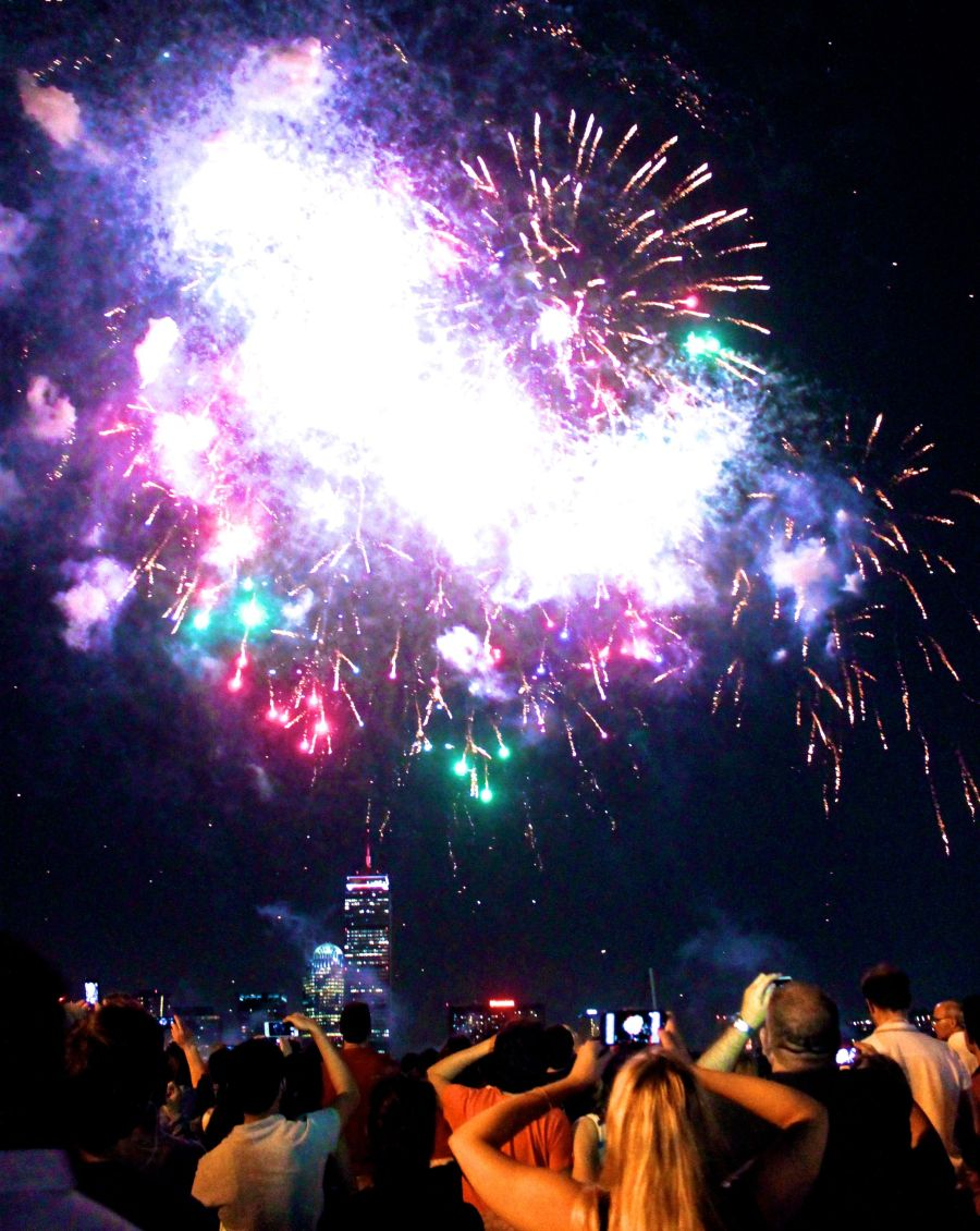 boston july 3 2014 fireworks charles river 1