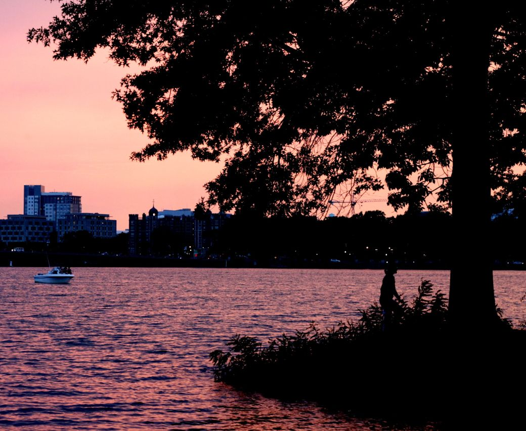 boston charles river sunset 2