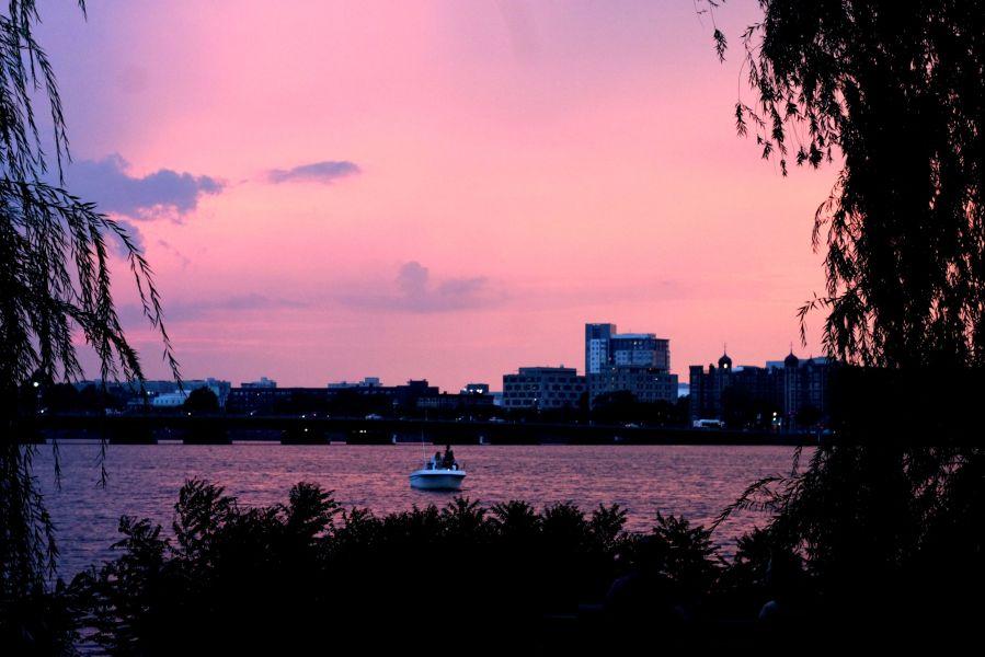 boston charles river sunset 3