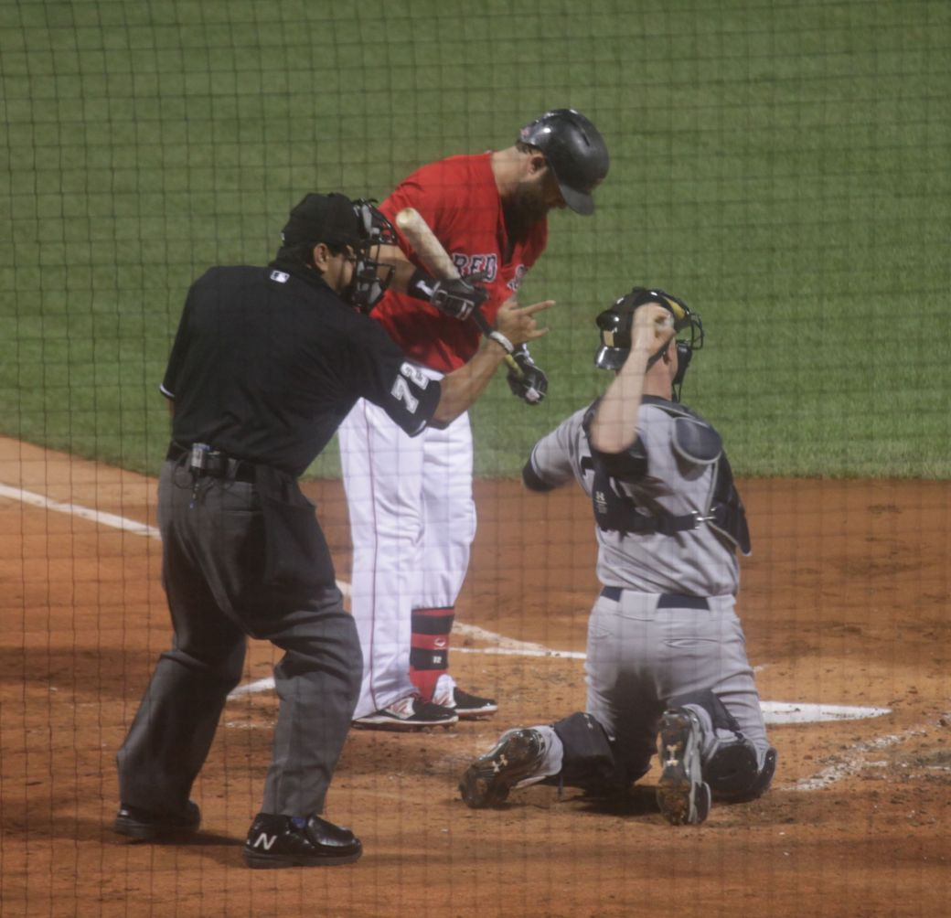 boston red sox fenway park game against yankees august 1 2014 home plate