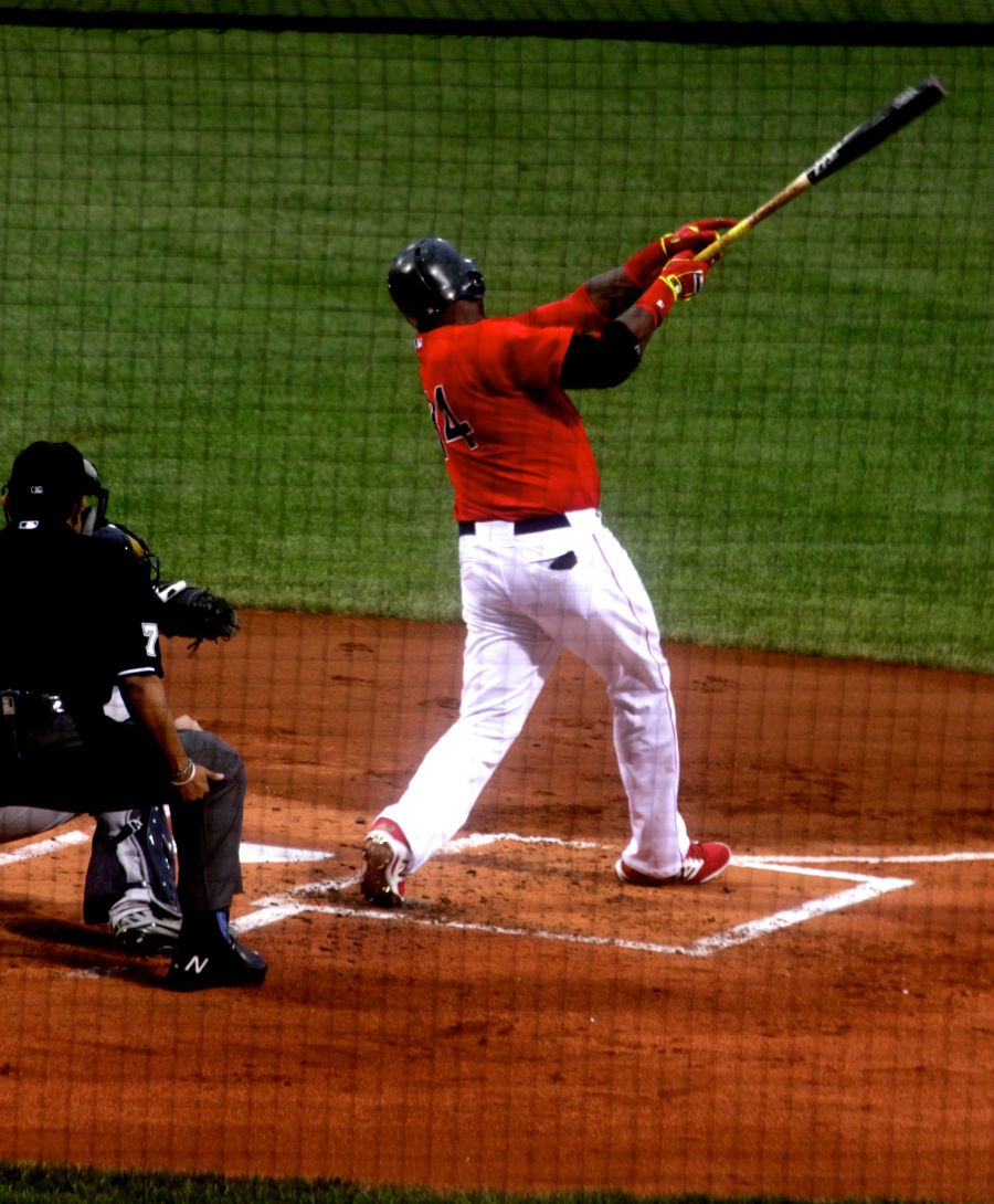 boston red sox fenway park game against yankees august 1 2014 number 34 big papi david ortiz