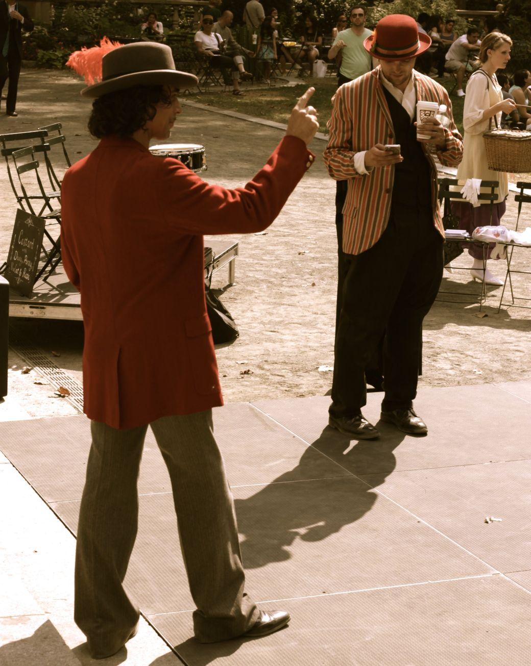 new york city bryant park performers