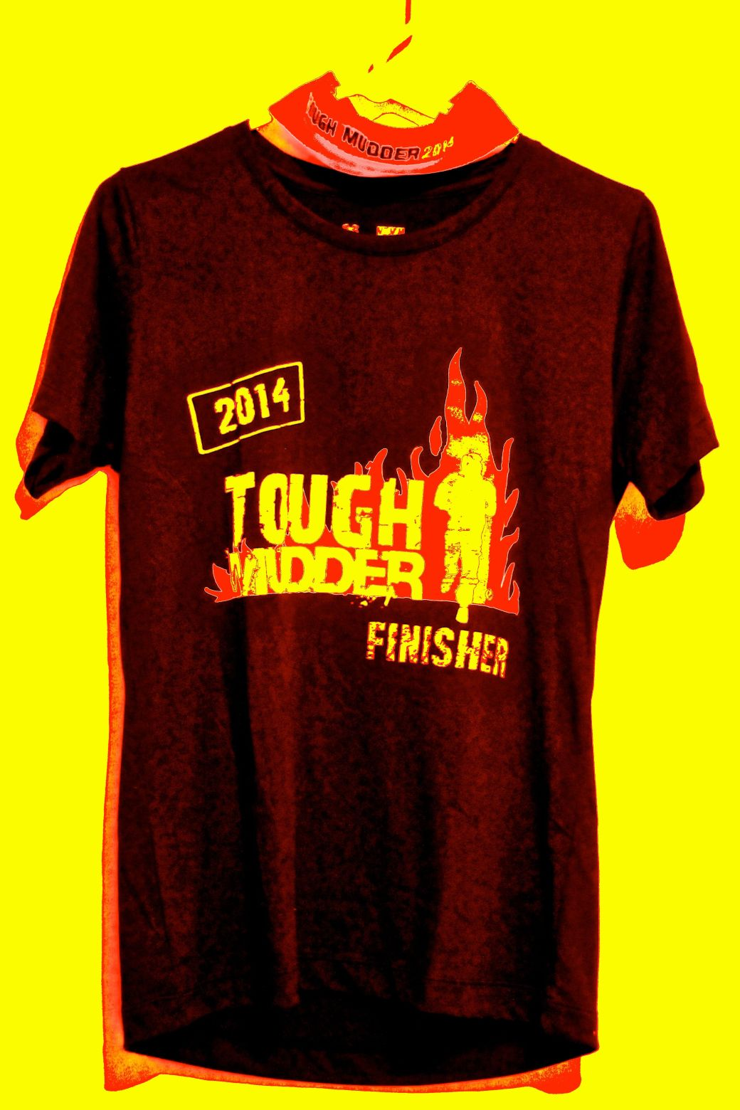 tough mudder finisher t-shirt