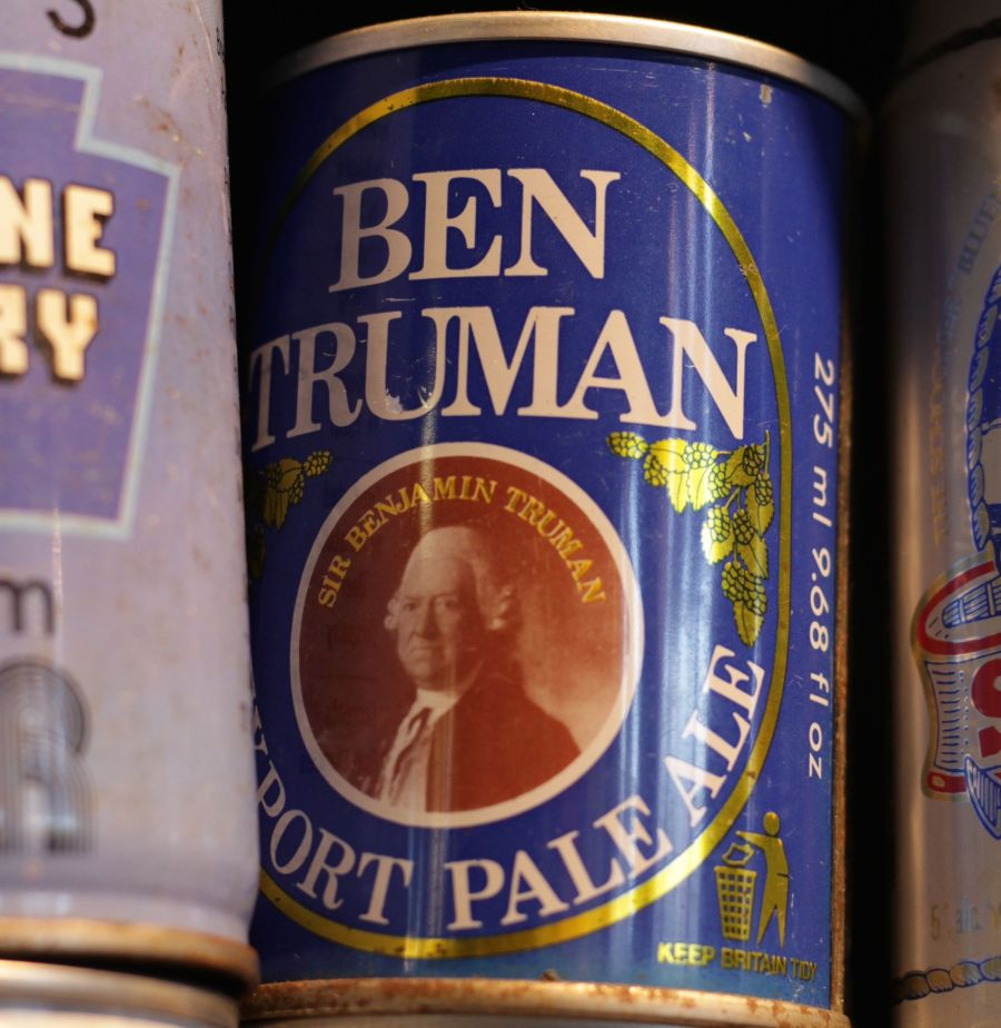 boston harpoon brewery beer can collection 11 ben truman pale ale