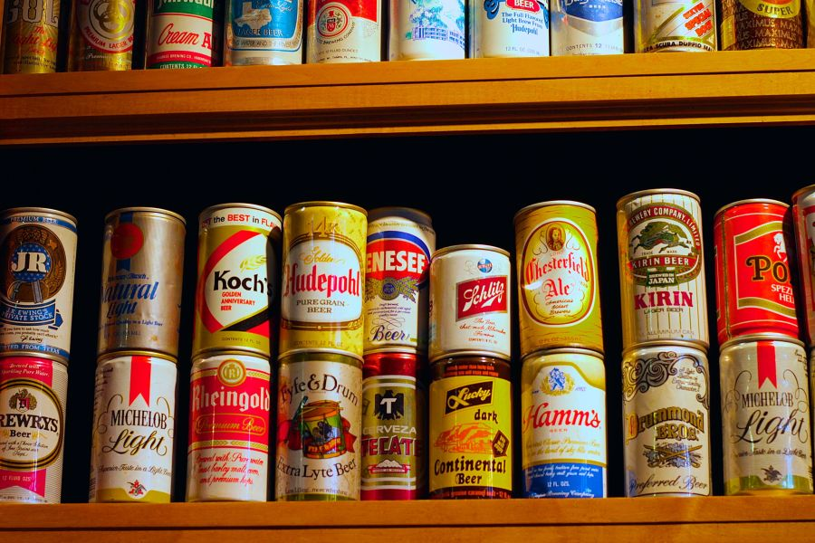boston harpoon brewery beer can collection 2