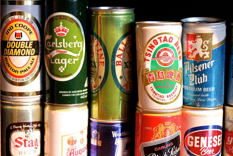 boston harpoon brewery beer can collection 3