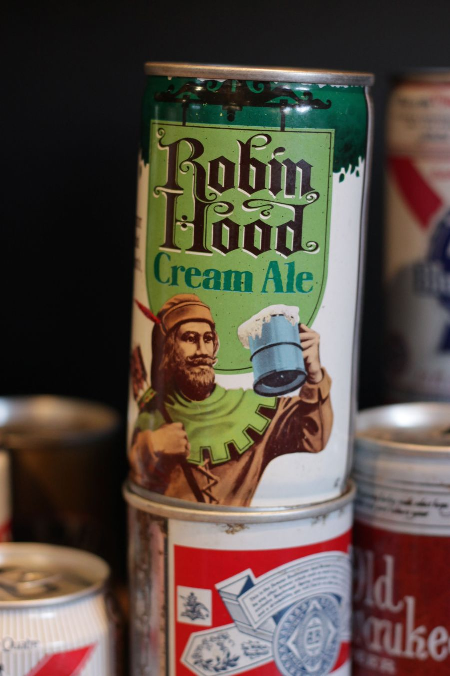boston harpoon brewery beer can collection 6 peter pan ale