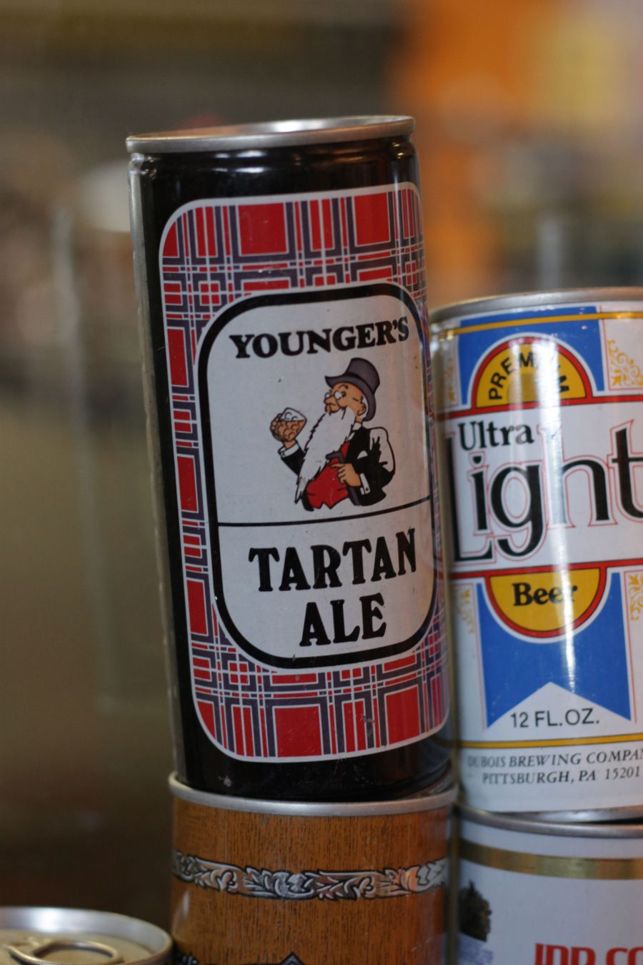boston harpoon brewery beer can collection 7 tartan ale